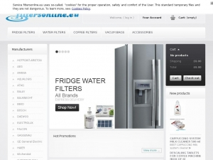 Filtersonline - filtres for water and fridges